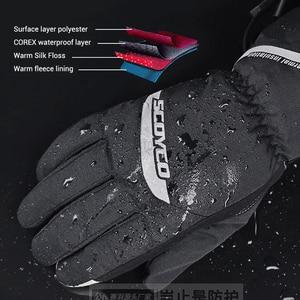 Image 3 - SCOYCO עמיד למים אופנוע כפפות גברים Guantes Moto Moto כפפות Windproof גאנט Moto מגע מסך אופנוע רכיבה כפפות חורף