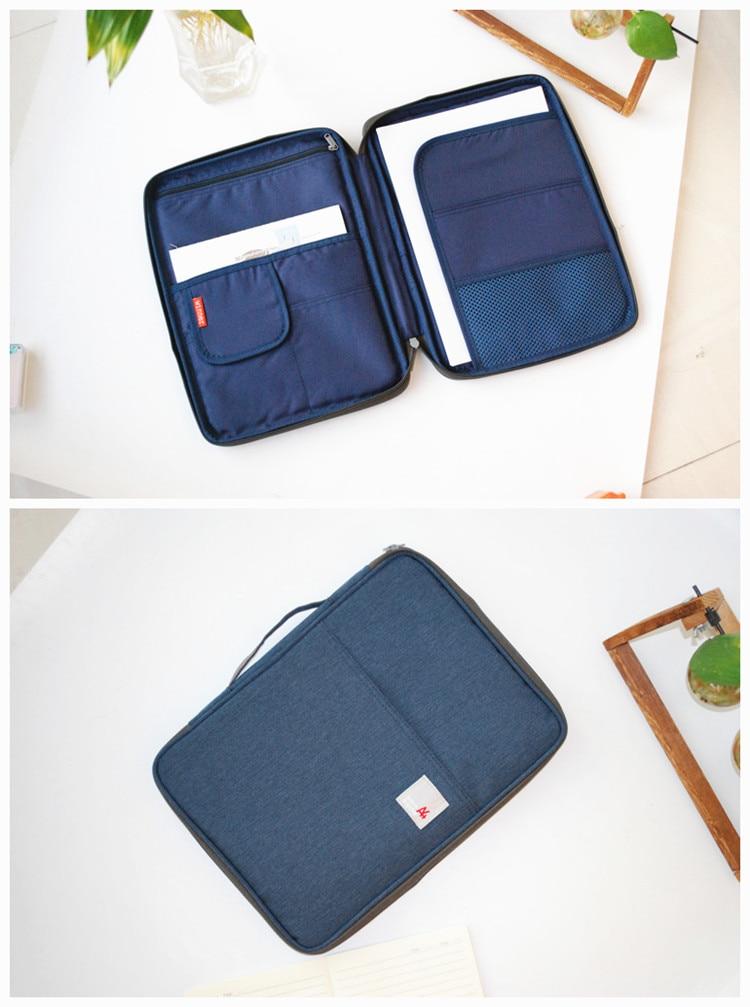 impermeável oxford pano organizado tote para notebooks