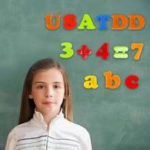 Магнитный английские буквы Цифровой алфавит наклейки на подарки