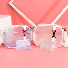 Direct sales Transparent Clear Women Crossbody Bags Shoulder Bag Handbag Jelly Small Phone with Card Holder