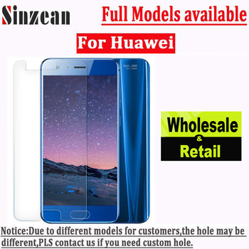 Sinzean 20pcs For Huawei P20 Lite/P20 Pro/P9 Plus/P9 Lite mini/P8 Lite 2.5D Clear Glass Tempered Glass Screen Protector