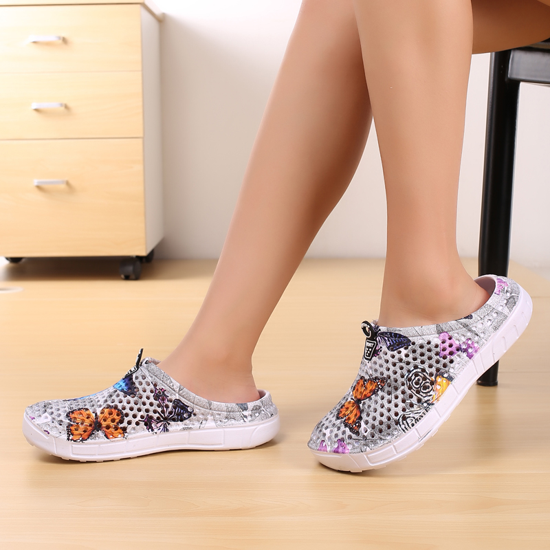 Women Summer Slip 0n Quick Dry Lightweight Breathable Water Clogs Shoes for Beach Swimming 4