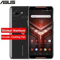 "Global version ASUS ROG Phone ZS600KL 6.0"" 8GB RAM 128/512GB ROM Snapdragon 845 Octa Core 4000mAh NFC Android 8.1Dual SIM Phone"