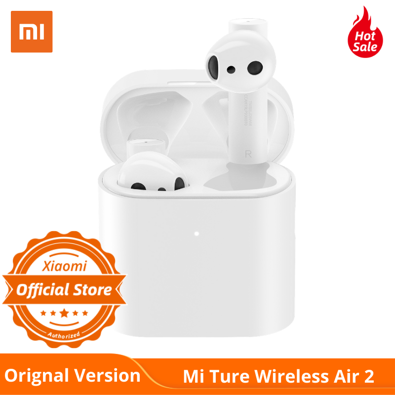 NEW XIAOMI Airdots Pro 2 Air 2 Mi True Wireless Earphones 2 TWS Bluetooth 5.0 14H Battery Life ANC LHDC Tap Control Dual MIC