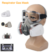 Gas-Mask 6200 Respirator Painting Spraying-Welding Safety-Work Half-Face Carbon Activated