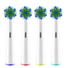 Nozzles Heads Toothbrush-Heads Oral-B Braun 4pcs for Multi-Angle Wholesale