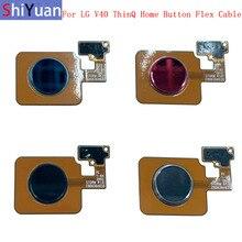 Fingerprint Sensor Home Button Flex Cable Ribbon For LG V40 ThinQ Touch Sensor Flex Ribbon Replacement Parts