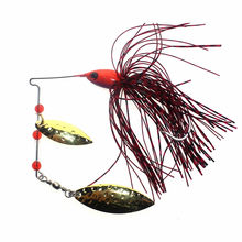 16.5g Vissen Biats Metalen Lepel Jigs Lokken FishingTackle Bas Aas Spinnerbait Haak Visgerei(China)