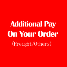 Additional Pay on Your Order Extra Shipping Fee or Extra Fee extra shipping fee extra refund money