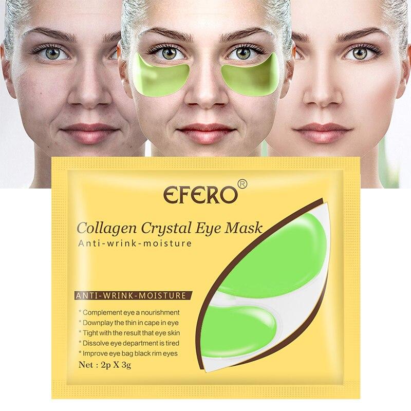 Collagen Crystal Eye Mask Face Mask Gel Eye Patches For Eye Bags Wrinkle Dark Circles Eye Pads Sheet Mask Eyes Mask Hot