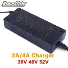 36 V 42 V 48 V 54,6 V 52 V 58,8 V 2A литиевая батарея зарядное устройство литий-ионный аккумулятор зарядное устройство для ebike Электрический велосипед DC XLR...