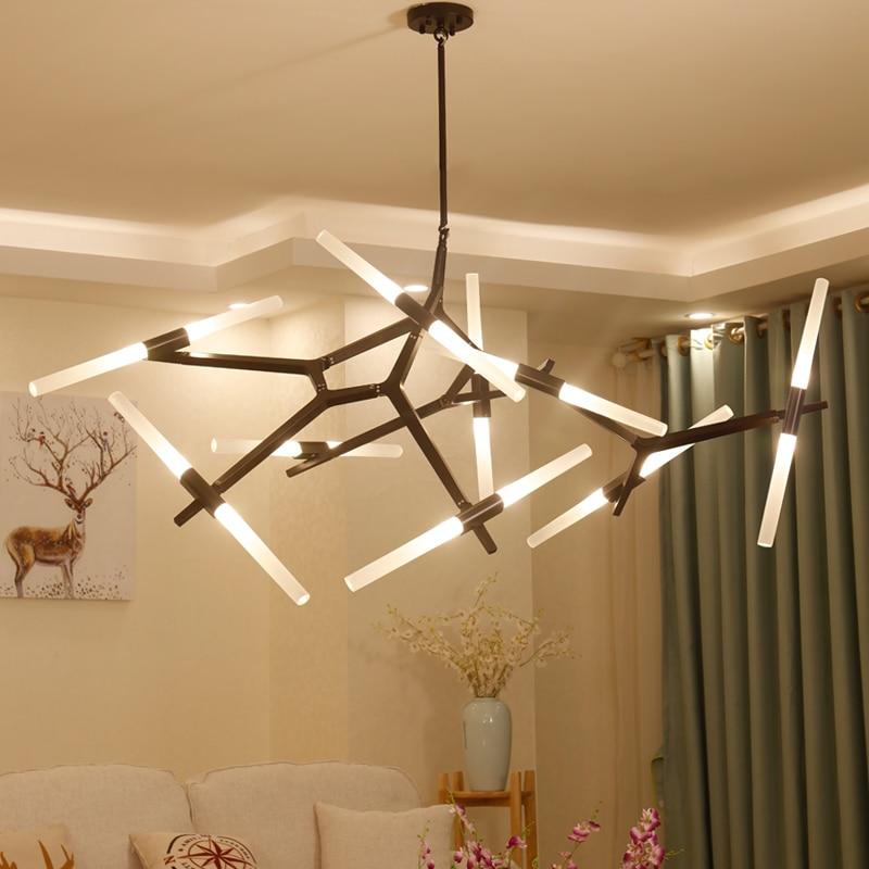 Post modern tree branch chandelier ...