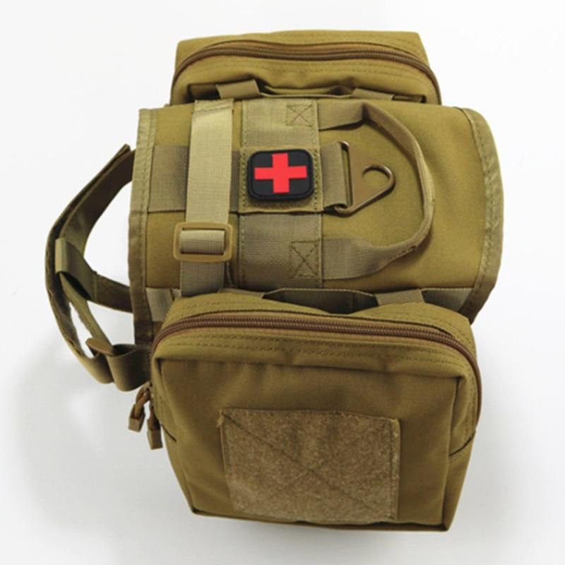 التكتيكية الكلب سترة مع الحقائب رخوة العسكرية تسخير K9 الكلب التدريب الاكسسوارات خدمة الكلب الملابس الصيد سترات