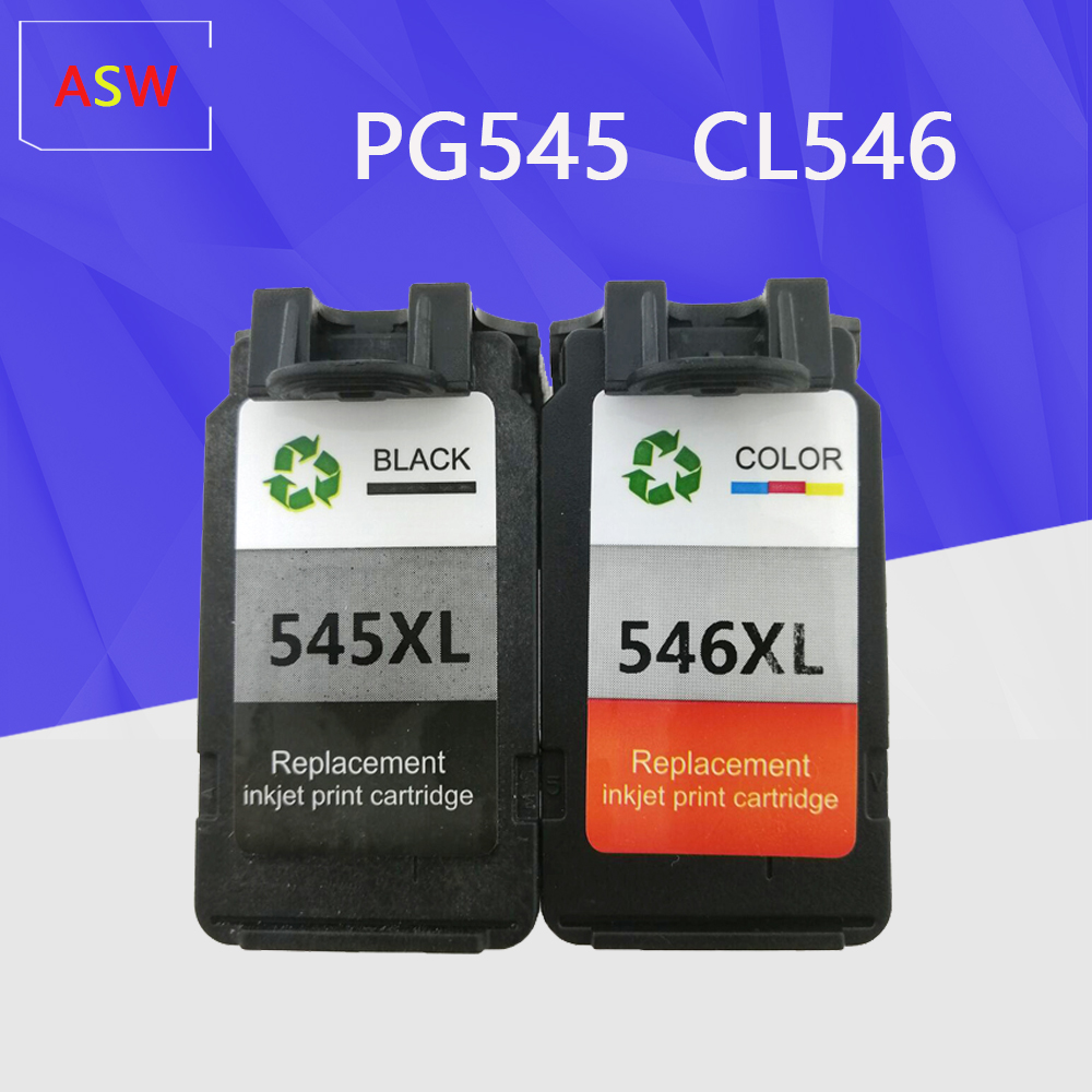 PG545 CL546 Ink Cartridge for Canon PG 545 CL 546 545XL 545XL 546XL pg545 For Canon Pixma IP2850 MX495 MG2450 MG2550 MG2950 NS28