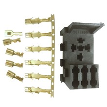 For Car Rv Yacht Relay & 3 Fuse Base Kit - 4, 5 Pin & Flasher Relays Ato Fuses Holder Socket Box(China)