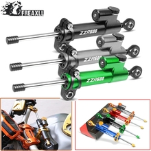 Motorcycle Steering Damper Stabilizer Linear Reversed Safety Control Over For KAWASAKI NINJA ZZR600 ZZR 600 1990-2009 1991 1992
