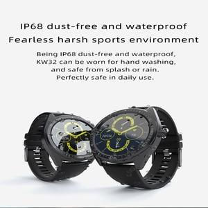 Image 3 - 2020 K33 Intelligente Della Vigilanza degli uomini di 1.28 Schermo di Tocco Pieno 460mAh Lungo Standby 8 Modalità Sport Heart Rate Monitor smartwatch Per Andriod IOS
