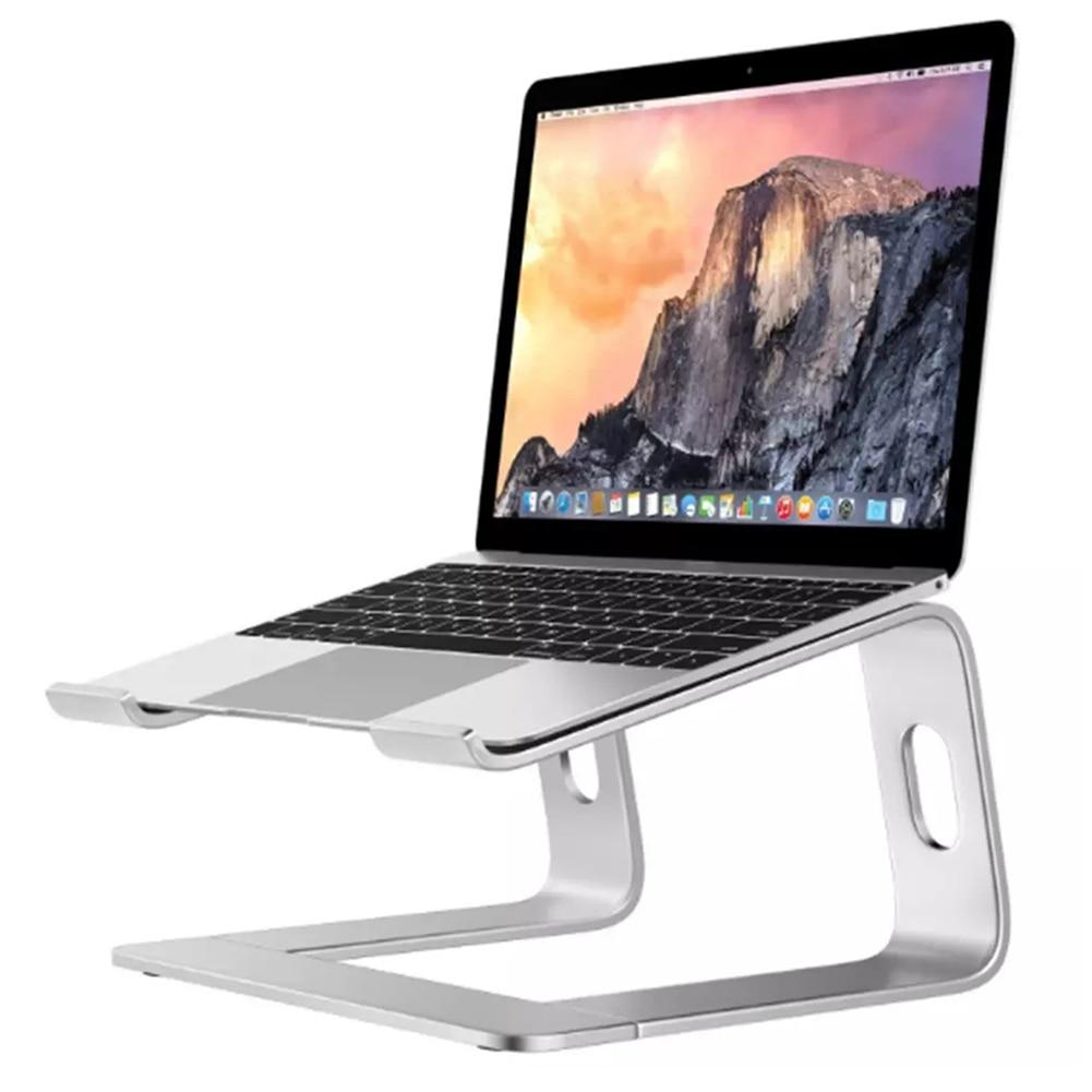Алюминиевый сплав Настольный держатель для ноутбука теплоотвод противоскользящая Подставка для планшета NC99