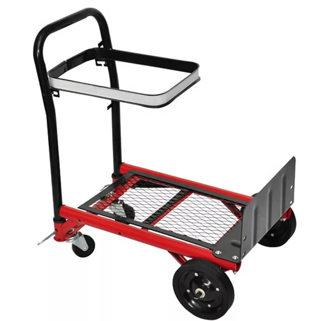 VidaXL Collapsible Platform Trolley Outdoor Utility Wagon Trolley Cart For Gardens Parks Camping Outdoor Activities Moving Thing