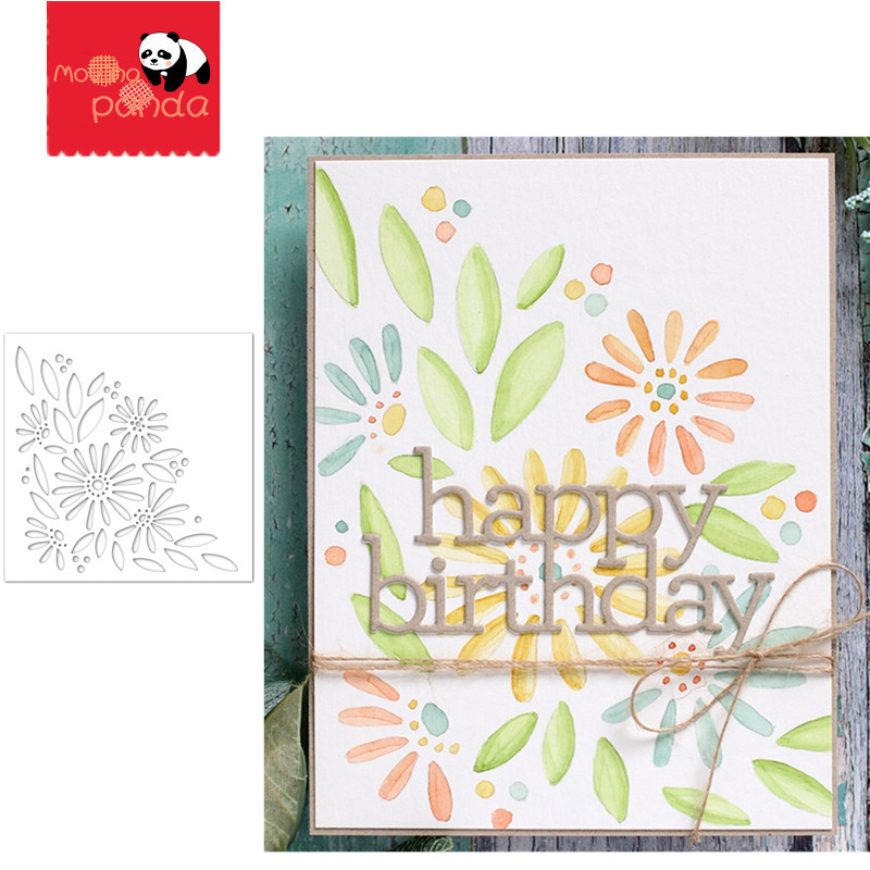 DAISY BOUQUET Stamp Stencil Metal Cutting Dies And Stamps For Painting Stencil Template Scrapbooking DIY Crafts Paper