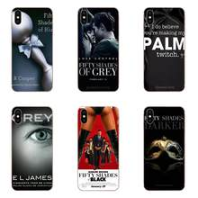 For Xiaomi Redmi Mi 4 7A 9T K20 CC9 CC9e Note 7 9 Y3 SE Pro Prime Go Play Soft Cell Phone Cover Case 50 Fifty Shades Of Grey(China)