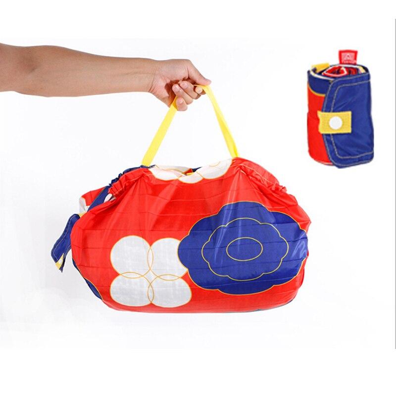 New Design Supermarket Shopping Bag Waterproof Shopper Tote Bag Fashion Eco-friendly Materials Portable Eco Bag