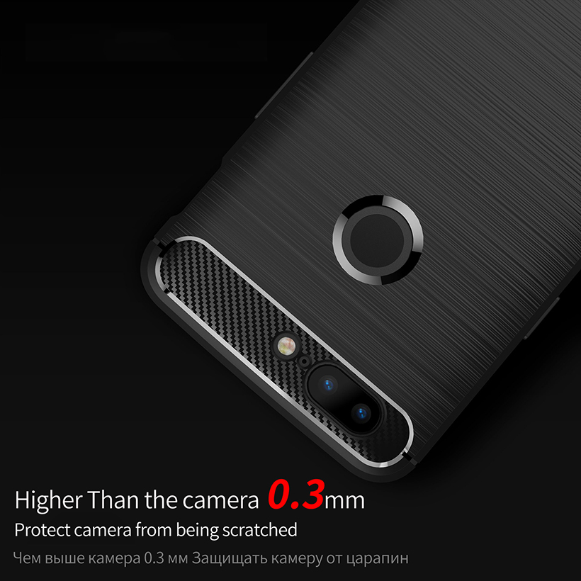 Ojeleye Carbon Fiber Cases For Oneplus 5 Case Ultra Thin Slim Back Cover For Oneplus 5T 6 6T Covers OP5T A5000 One Plus 5t Shell in Fitted Cases from Cellphones Telecommunications