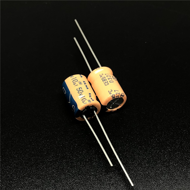 20pcs 50V 10uF 50V ELNA CE-BP 6x7mm Bipolar Audio Capacitor