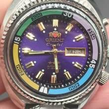 Estilo clássico relógio mecânico masculino orient-marca superior todo o aço inoxidável à prova dwaterproof água relógio automático relogio masculino