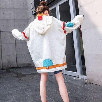 XITAO Plus Size Women Hoodies Fashion New 2019 Patchwork Winter Pocket Small Fresh Casual Full Sleeve Minority Hoodies DMY1079 2