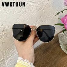 Vwktuun женские и мужские солнцезащитные очки 2020 многоугольный