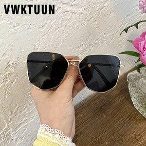 VWKTUUN Sunglasses Women 2020 Polygonal Glasses UV400 Sunglasess Driving Driver Points Oversized Shades for Men Sun glasses(China)