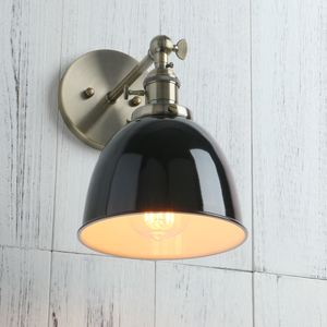 Image 3 - Permo Vintage wandlamp 6.5 Wall Lamps Black Modern Wall Sconce Industrial Stair Wall Light Fixtures New Year Christmas Decor