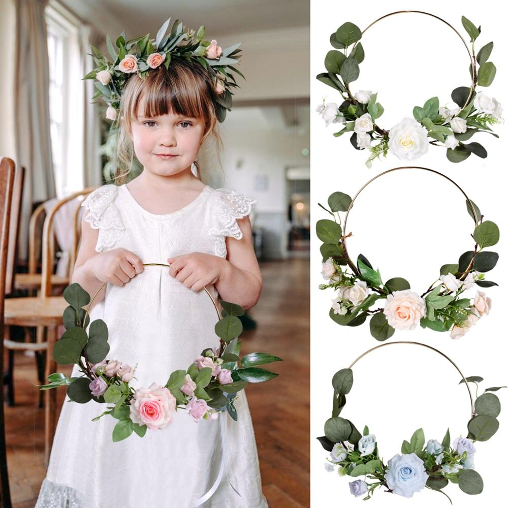 Frigg Rose DIY Garland Weeding Decor For Weddings Party Decorations Rustic Bride To Be Weding Love Decor Wedding Accessories