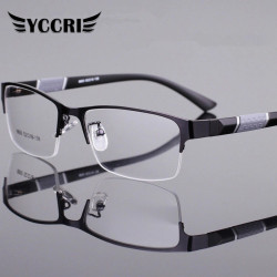 Reading Glasses Men Women High Quality Half-frame Diopter Glasses Business Male Presbyopic Eyeglasses Lentes De Lectura Mujer