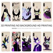 Soft TPU Case Cover For Coque Xiaomi Redmi 4X 4A 6A 7a Y3 K20 5 Plus Note 8 7 6 5 Pro Maleficent Sleeping Beauty princess(China)