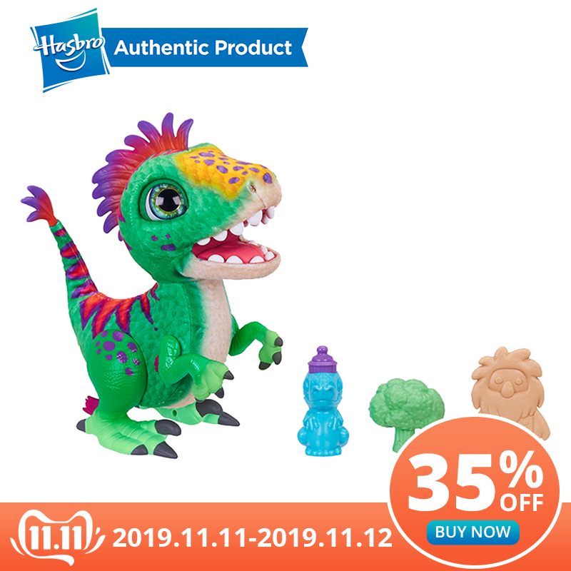 Hasbro FurReal Munchin' Rex  Hungry Dino Funny Baby Dino That's Full Of Surprises FurReal Pets Toys And Gifts For Kids