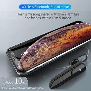 Image 3 - V19 écouteur sans fil 1PC Mini Bluetooth bruit Concel stéréo son mains libres avec micro casque écouteur écouteur pour IOS Android
