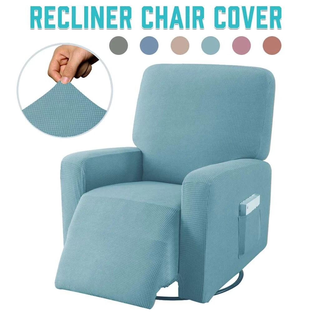 Kaymaz Recliner sandalye kılıfı koruyucu elastik her şey dahil masaj koltuğu  kapağı koltuk yumuşak sandalye kılıfı s mobilya koruyucu Sofa Cover