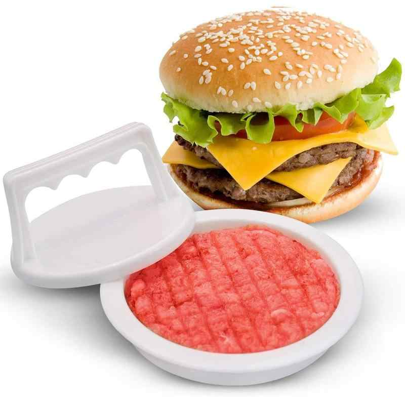 1pc Stainless Steel Burger Press Functional Creative Burger Press for Kitchen
