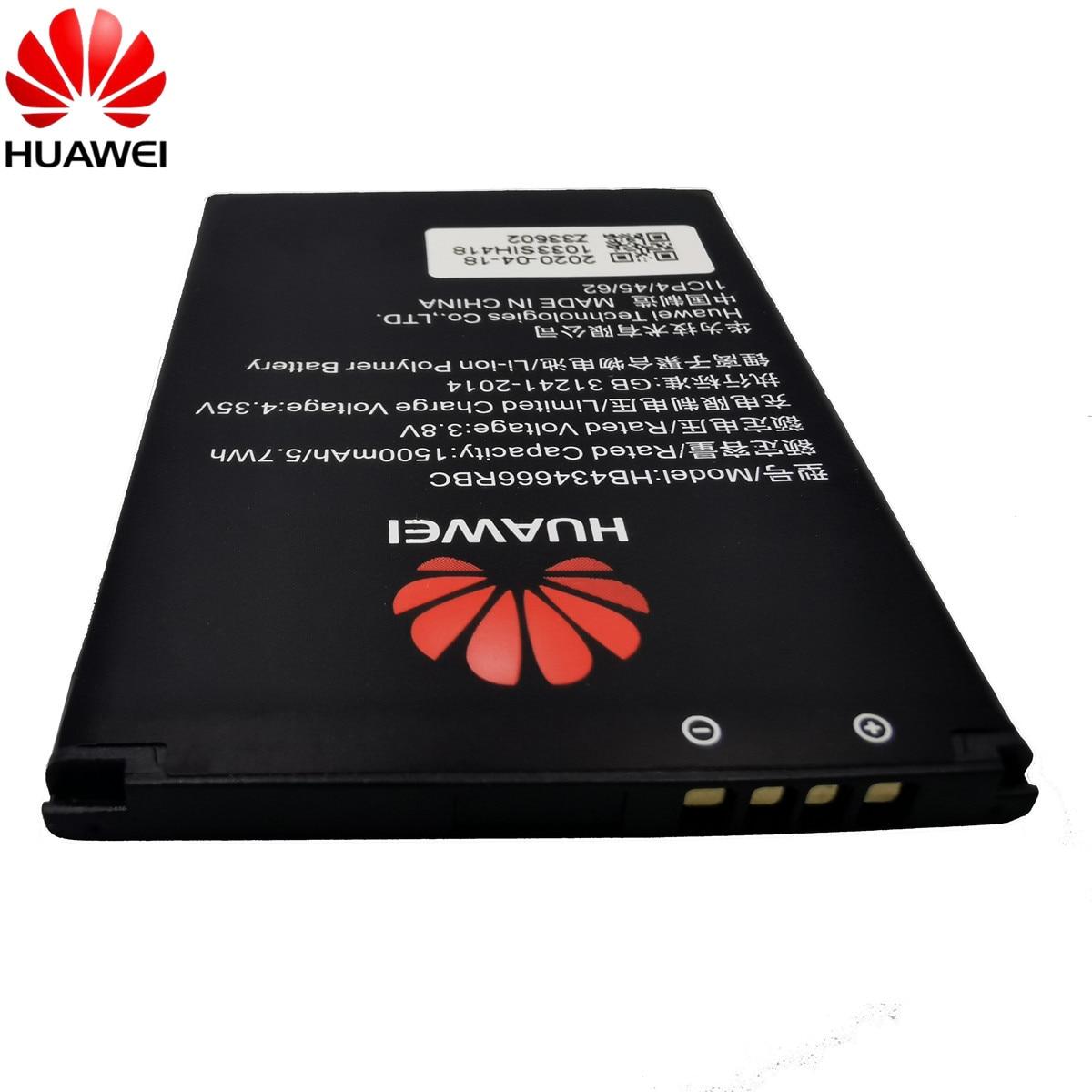 100% Original Battery HB434666RBC For Huawei Router E5573 E5573S E5573s-32 E5573s-320 E5573s-606 -806 High Capacity 1500mAh 5