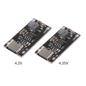 Image 5 - 3.7vポリマー三リチウム電池の高速充電ボード出力4.2v/4.35v電源モジュール5v 4.2v 4.35v 3A 2A 1A電流