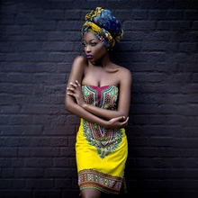 Women African Fashion Sexy self-cultivatin chest-wrapped clothes style national dress JQ-10008
