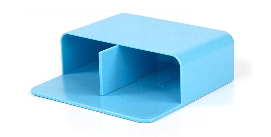 Criativo geladeira ímã caixa de armazenamento magnético