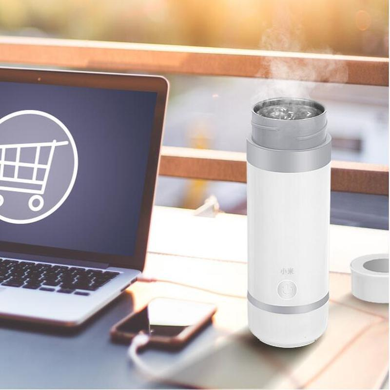 Xiaomi Electric Hot Water Cup Travel Electric Kettle Electric Boiling Cup Water Bottle Portable Burning Cup Mini Health Cup 5