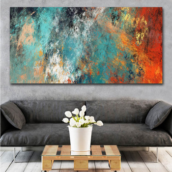 цена на Modern Abstract Clouds Canvas Paintings Wall Posters and Print Scandinavian Cuadros Picture for Living Room Decor No Frame