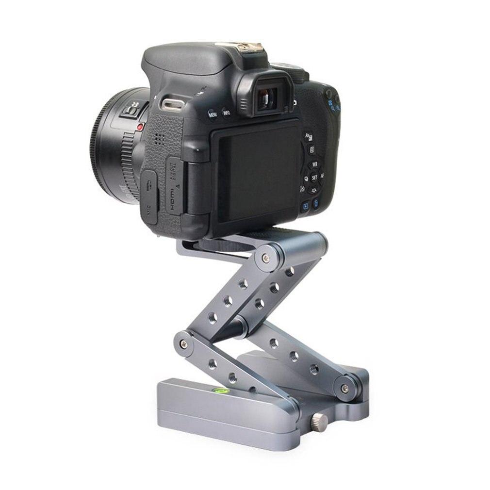 Z pan tripod head Flex folding type tilt for Canon Nikon Sony DSLR camera Aluminum alloy Tripod heads solution