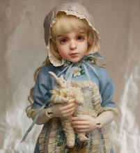 Aetop bjd dollbjd/sd bonecas bonito menina boneca artesanato ds rosa 1/4 bola-articulado bonecas