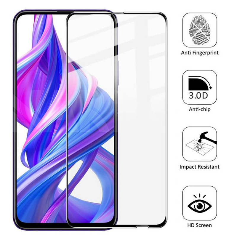 9D Protective Glass on the For Honor 9X 9A 9C 9S Tempered Screen Protector Honor 8X 8A 8C 8S 9i 10i