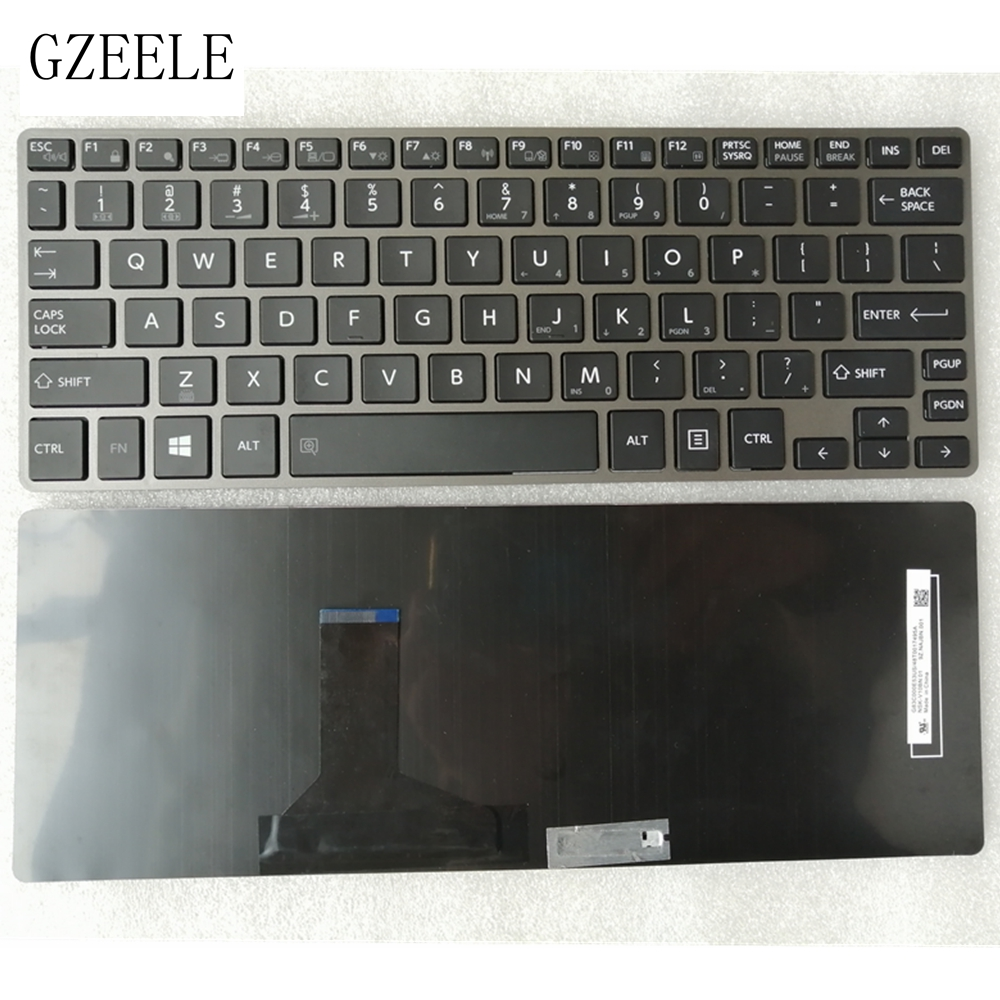 GZEELE New laptop keyboard for Toshiba Portege Z30 A Z30 B Z30 C Z30T B Z30T A Satellite Z30 A Z30t A QWERTY US keyboard|Replacement Keyboards| |  -